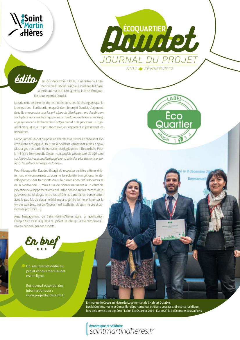 Journal Daudet Février 2017