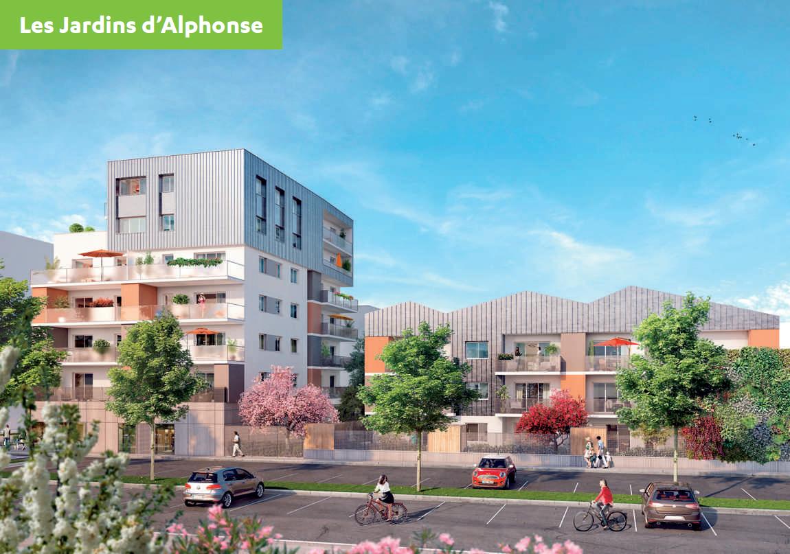 Lot b r sidences hello garden les jardins d 39 alphonse for Jardin residence